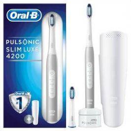 Oral-B Pulsonic SLIM LUXE 4200 bílý Osobní péče