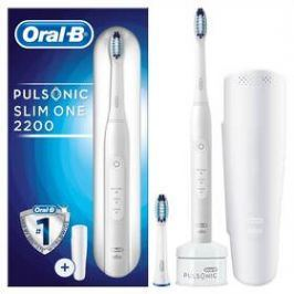 Oral-B Pulsonic SLIM ONE 2200 bílý Osobní péče
