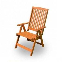 Rojaplast Holiday hnědý Židle a křesla na zahradu