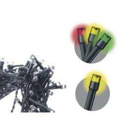 EMOS 100 LED řetěz, 10m, teplá bílá/multicolor, programy (1534201300) Osvětlení