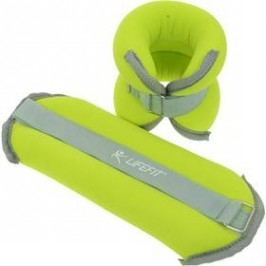 LIFEFIT ANKLE/WRIST WEIGHTS 2 x 1,5kg zelené