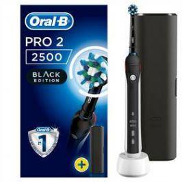Oral-B PRO 750 Black Cross Action černý
