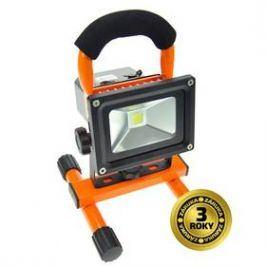 Solight 10W, studená bílá, nabíjecí, 700lm (WM-10W-DE) černý/oranžový Osvětlení