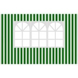 Happy Green s oknem-pruhy