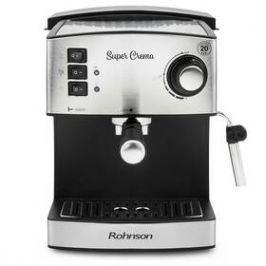 ROHNSON R-980 stříbrné Espressa a kávovar