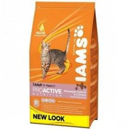 Iams Cat rich in Salmon 3 kg Kočky