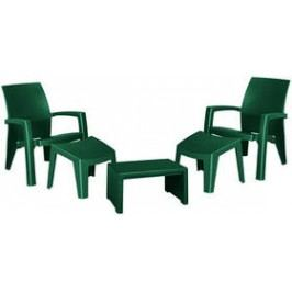 Allibert Lago Maxi relax zelený Sety nábytku na zahardu