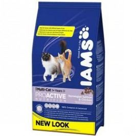 Iams Multicat Chicken / Salmon 3 kg