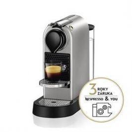 Krups Nespresso Citiz XN741B10 stříbrné