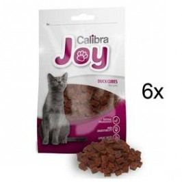 Calibra Joy Cat Duck Cubes 6 x 70g Kočky