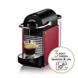 DeLonghi Nespresso EN124.R červené
