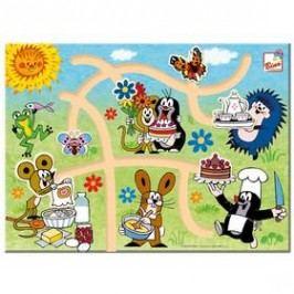Najdi správnou cestu BINO - Krtek Hračky ze dřeva