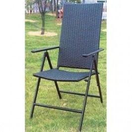 Rojaplast ratan antracit 2 ks Židle a křesla na zahradu