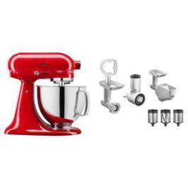 KitchenAid 5KSM180HESD + 5KSMFPPC