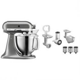 KitchenAid 5KSM185PSEMS + 5KSMFPPC