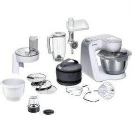 Bosch CreationLine MUM58257 bílý Zpracování surovin