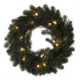 EMOS vánoční věnec, 40cm, 2× AA, vnitřní, teplá bílá (1534224400) Osvětlení