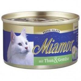 Miamor Filet tuňák + zelenina v želé 100g