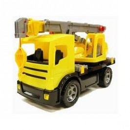 Autojeřáb LENA - žlutá Hračky pro kluky