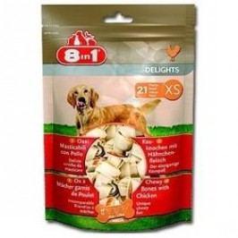 8 in 1 Kost žvýkací Delights XS bag 21ks
