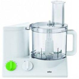 Braun FP 3010 bílý/zelený Zpracování surovin