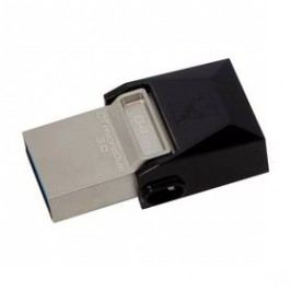 Kingston DataTraveler Micro Duo 3.0 64GB OTG MicroUSB/USB 3.0 (DTDUO3/64GB) černý