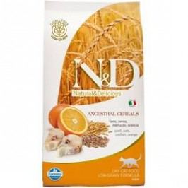 N&D Low Grain CAT Adult Codfish & Orange 10 kg