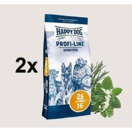 HAPPY DOG Profi-Line SPORTIVE 26/16 - 2 x 20 kg