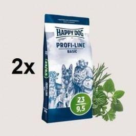 HAPPY DOG Profi-Line BASIC 23/9,5 - 2 x 20 kg