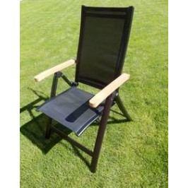 Rojaplast Angela ZWC-63 černé Židle a křesla na zahradu
