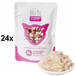 Brit Care Chicken & Duck Pouch 24 x 80g Kočky