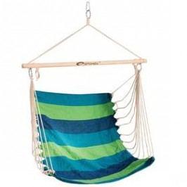Spokey sedátko BENCH modrý/zelený