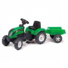 FALK Ranč s odpojitelným vozíkem zelený
