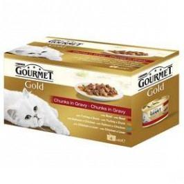 Gourmet Gold kousky ve šťávě Multipack (4x85g)