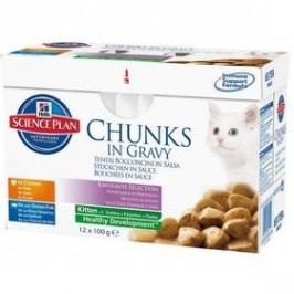 Hill's Kitten Chicken+Fish Multipack 12 x 85g