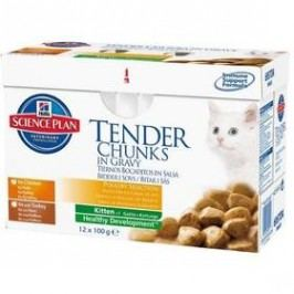 Hill's Kitten Chicken+Turkey Multipack 12 x 85g