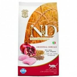 N&D Low Grain CAT Adult Chicken & Pomegranate 1,5 kg