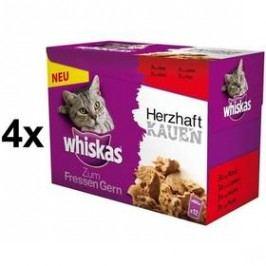 Whiskas GUSTO s tmavým masem 4 x (12 x 85g)
