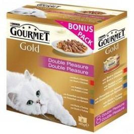 Gourmet Gold směs dušených a grilovaných kousků Multipack (8x85g)