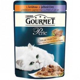 Gourmet Perle Duo s krůtou a jehněčím 85g