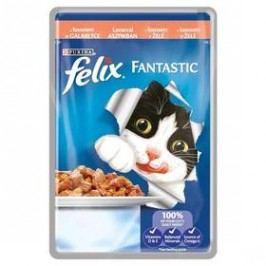 Felix Fantastic s lososem v želé 100g