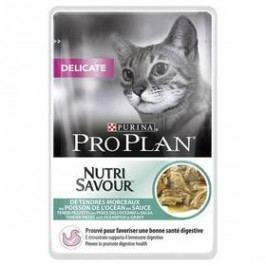 Purina Pro Plan CAT DELICATE Mořské ryby 85g