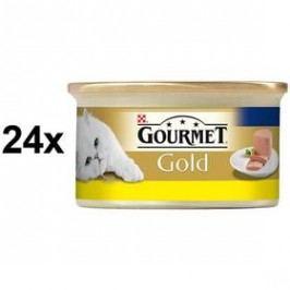 Gourmet Gold s kuřecím 24 x 85g