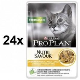 Purina Pro Plan CAT STERILISED Kuře 24 x 85g