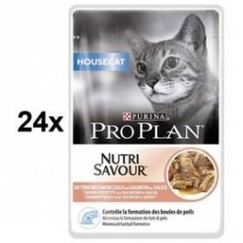 Purina Pro Plan CAT HOUSECAT Losos 24 x 85g