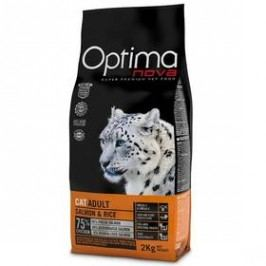 Optima nova Cat Adult Salmon a rice 2 kg