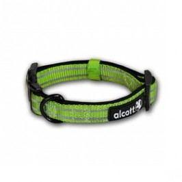 Alcott reflexní M 35-51cm zelený