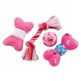 Nobby Puppy Set pro štěně 4ks růžová
