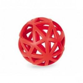 Nobby Ruber Line děrovaný míč 12,5cm červená