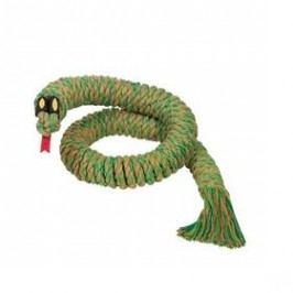 Nobby Snake Large provaz na hraní 115cm zelená
